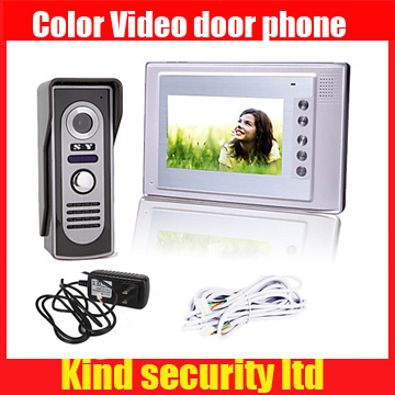 все цены на 7 Inch Color TFT LCD Video Door Phone Intercom System with Waterproof Cover Camera (420 TVL) , unlock function, night vision онлайн