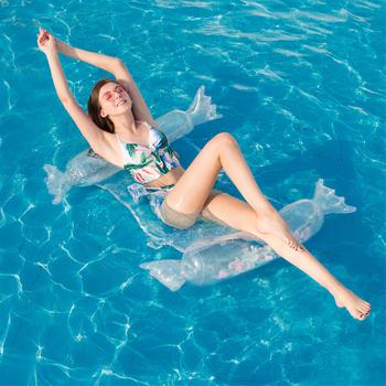 Woda hamak fotel nadmuchiwany materac do pływania basen nadmuchiwane koło do pływania dla dorosłych wodne zabawki leniwy łóżko wodne tanie i dobre opinie WOMEN WJ1387 FEELWIND