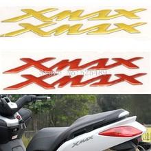 """4 Farben Für YAMAHA X-MAX XMAX 125 250 400 Motorrad Emblem Abzeichen Aufkleber 3D Tank Rad Logo """"XMAX"""" Pad Schutz Abdeckung Aufkleber"""