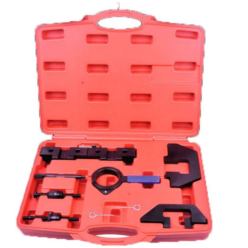 Engine Timing Tool Set FOR BMW M40 M42 M43 M44 M50 M52 M54 Cam Locking Flywheel Tool Kit high quality 5 pcs for land rover jaguar 2 7 3 0 diesel engine timing locking tool