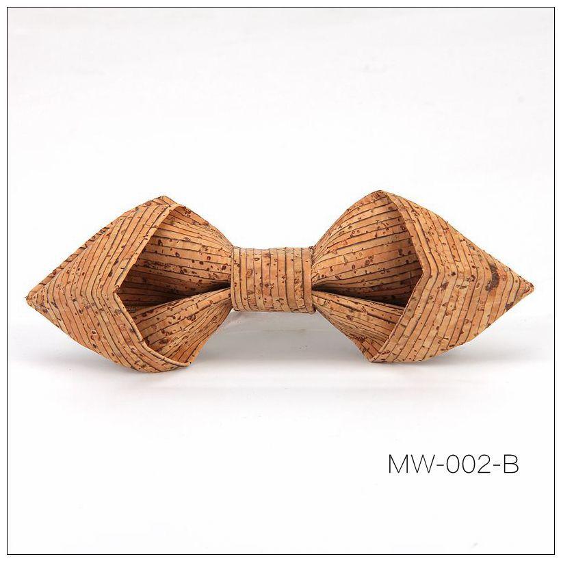 New Handmade Wooden Cork Bamboo Bow Tie Bowtie Men's Cravat 72