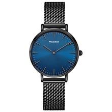 2018 Brand Stainless Steel Blue Watch Women Fashion Ladies Watch Luxury Reloj Mujer Women's Watches Clock Women relogios saat цена