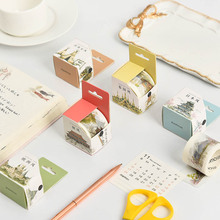 Washi Paper Tape Boxed Five Kingdoms Series Chinese/Japaness/Thailand/Indian/Europe Creative Diy Decoration Sketchbook Sticker