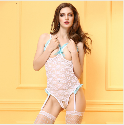 Sexy Lingerie Bodysuit Sexy Costumes Intimates Women Bodystocking Open Crotch font b Sex b font Products