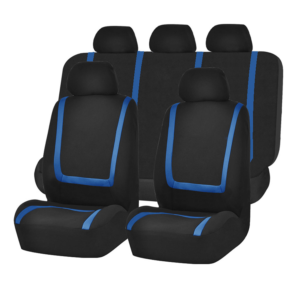 HQ Black Rear Back Waterproof Car Seat Cover Protector For Nissan Qashqai 14 On