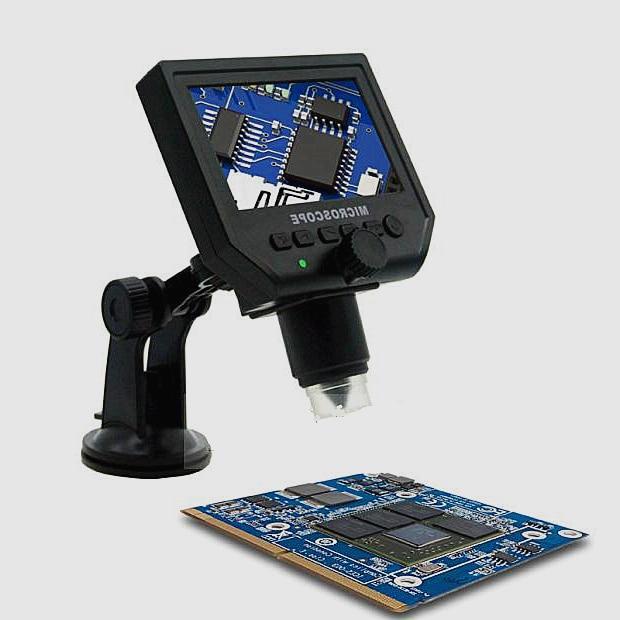 ФОТО 1-600x 3.6MP USB Digital Electronic Microscope Portable 8 LED  Microscope With 4.3