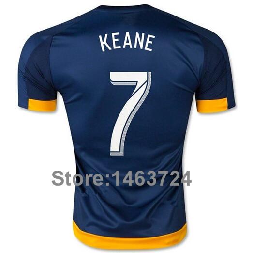 e638d3e53 Top Thai version 15 16 Los Angeles Galaxy David Beckham jersey 8 Steven  Gerrard jersey Donovan Gonzalez Keane Juninho-in Soccer Jerseys from Sports  ...