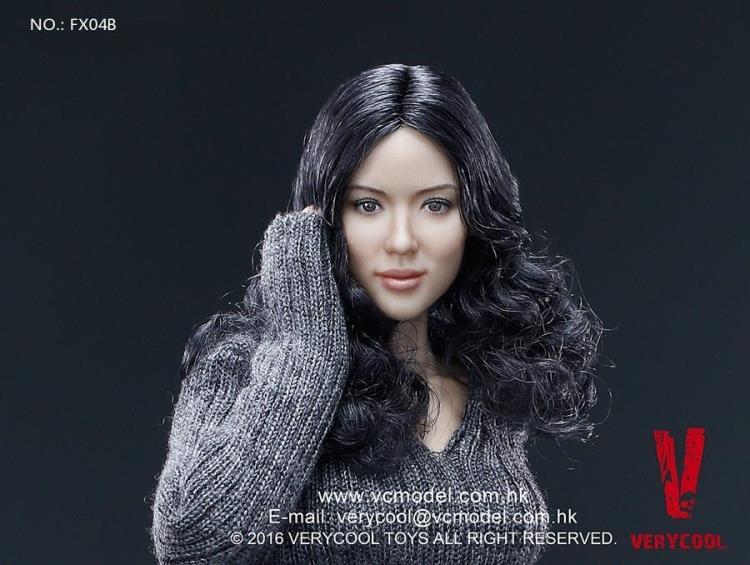 VERYCOOL 1/6 Asian  Headsculpt + VC 3.0 Female Body SetVERYCOOL 1/6 Asian  Headsculpt + VC 3.0 Female Body Set