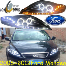 Monde headlight 2008 2012 Fit for LHD RHD need add 200USD Free ship Monde fog light