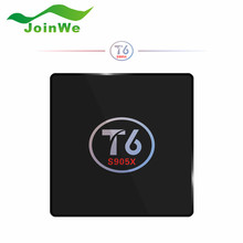 Оригинал T6 TV Box для Android 7.1 Smart TV Box 2 ГБ RAM 16 ГБ ROM S905X Amlogic Quad core Cortex A53 4 К 2.4 ГГц Wi-Fi Smart Set Top Box