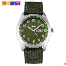 skmei 9112 waterproof quartz movt nylon strap plastic men watch women relogio masculino mens top brand luxury watches