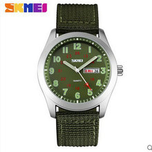 Skmei 9112 водонепроницаемый кварцевые movt нейлон пластиковый ремешок мужчины смотреть женщин relógio masculino мужские лучший бренд роскошных часов