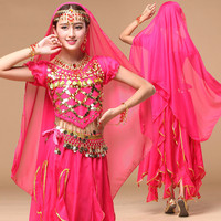 2017 Belly Dance Skirt Dance Skirt For Oriental Costumes India Costume Performance Dress Suit New Adult Dress(tow-seven Pieces)