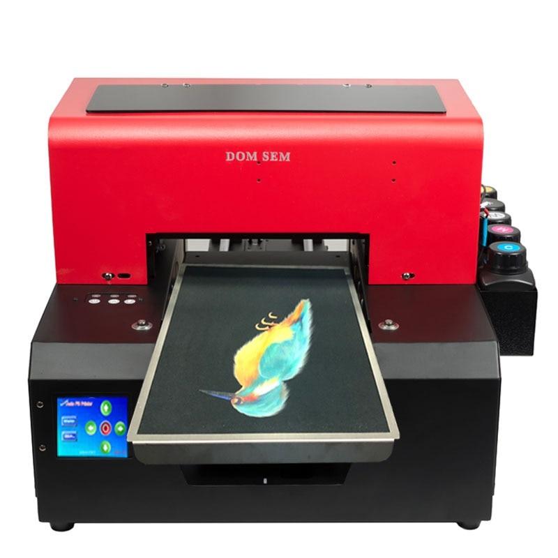 Automatic Glass Metal UV Printer A4 Size UV Flatbed Phone