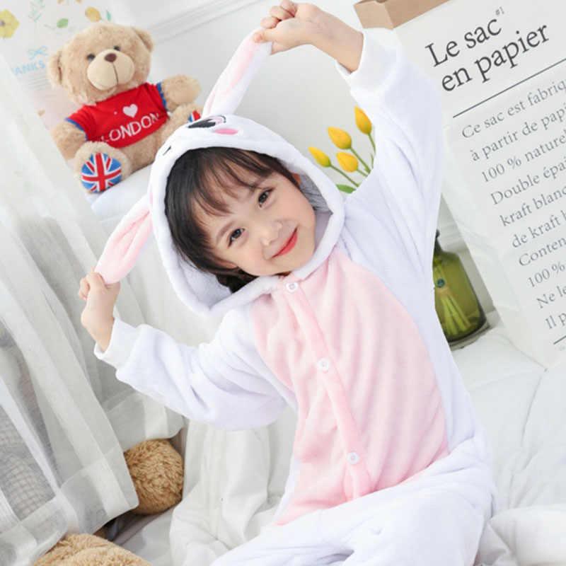 ... Kigurumi Onesie Дети Пижама с дизайном «панда» детские животные  мультфильм кролик летучая мышь Комбинезоны ... 8845aba11eff4