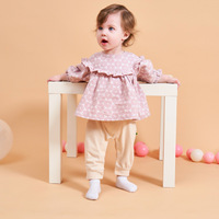 Newborn Baby Girls Romper 2019 Autumn Winter Baby Pretty Baby Girl Jumpsuit Outfits Kids For Baby Suit Infant Baby Clothing