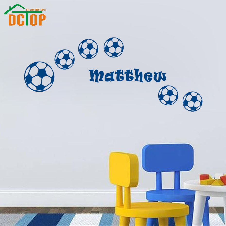 Boys wall stickers for bedrooms home design for Sports decals for kids rooms