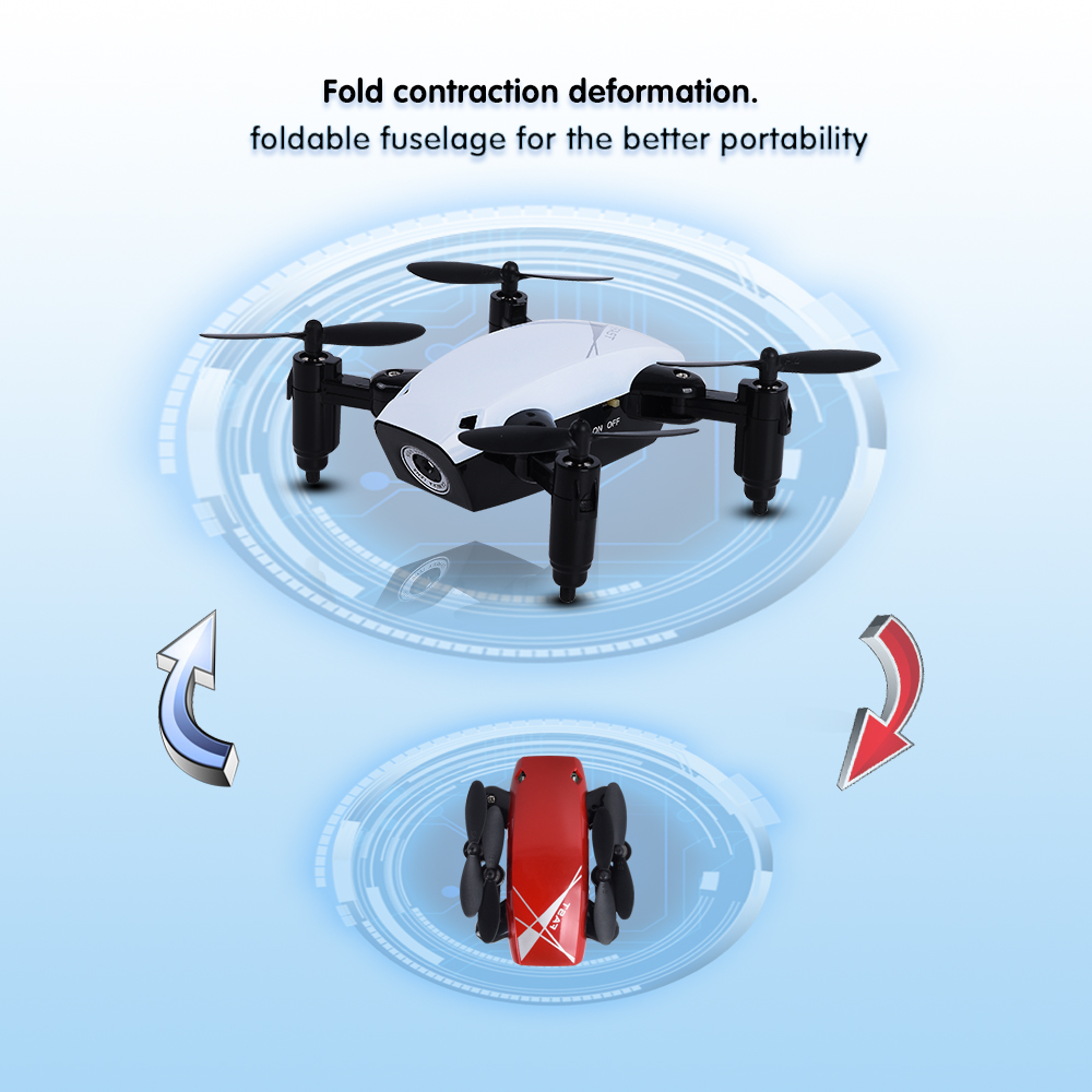 S9HW Mini Drone With Camera S9 No Camera Foldable RC Helicopter Altitude Hold RC Quadcopter WiFi FPV Micro Pocket Dron Boy Toys 3