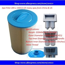 FILTER-205X150MM SPA-FILTER Slovakia Hot-Tub Czech Russia Cheaper Inexpensive