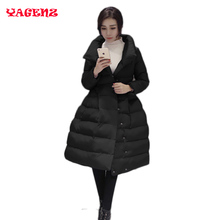 2017 Women Winter Jackets And Coats 2017 New Fashion Long Women Wadded Jacket Coat Thick Warm Female Outerwear