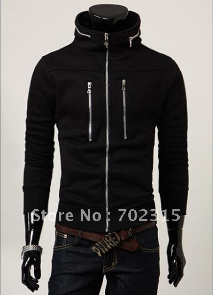 hot Men garment long-sleeved fashion coat ,Men's Casual Slim Jacket,Size M,L,XL,XXL