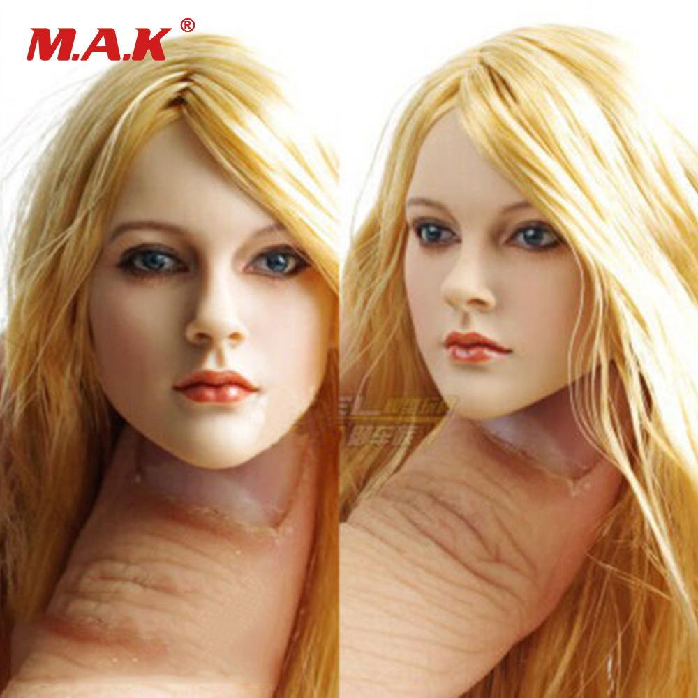 "1//6 Avril Lavigne Head Sculpt KUMIK 13-12 pour 12/"" Hot Toys PHICEN Kumik Figure"