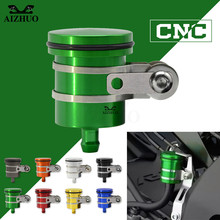 For KAWASAKI ZX10R ZZR/ZX1400 Z750R SUZUKI HAYABUSA/GSXR1300 SV1000/S TL1000R Universal Motorcycle Brake Fluid Reservoir Oil Cup