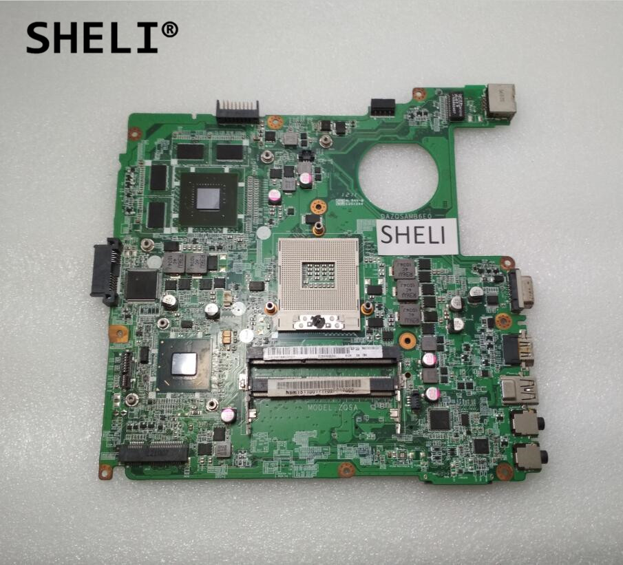 SHELI For Acer E1-471G Motherboard with GT630M video card DAZQSAMB6E0