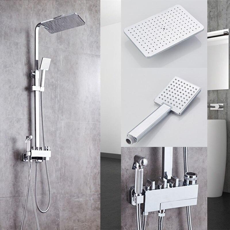 Shower faucet Bathtub Faucet Sets Bathroom Luxury black Golden ...