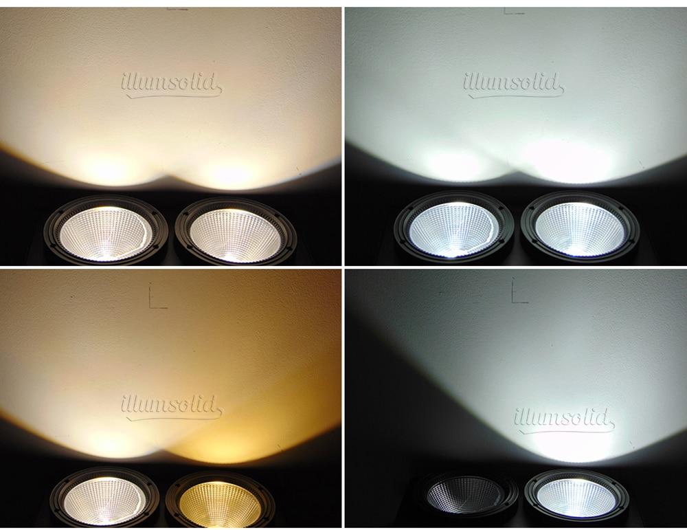 4 olhos par led luz 4x100 w