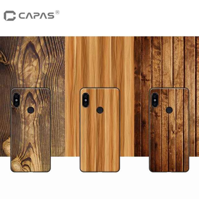 hot sales 2fbb3 cc2d4 US $7.99 |Redmi Note 5 Pro Case Cover TPU Silicone Soft For Xiaomi Redmi  Note 5 Al Fundas Wood Stone Pattern Protective Shield ShockProof-in Fitted  ...