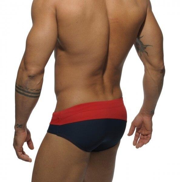 Seksowne stroje kąpielowe strój kąpielowy męskie spodenki - Ubrania sportowe i akcesoria - Zdjęcie 3