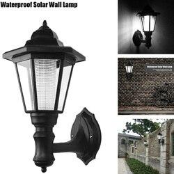 Konesky Outdoor LED Solar Power Light Energy Saving Super Bright Yard Garden Decoration Path Street Security Wall Hanging Lamp
