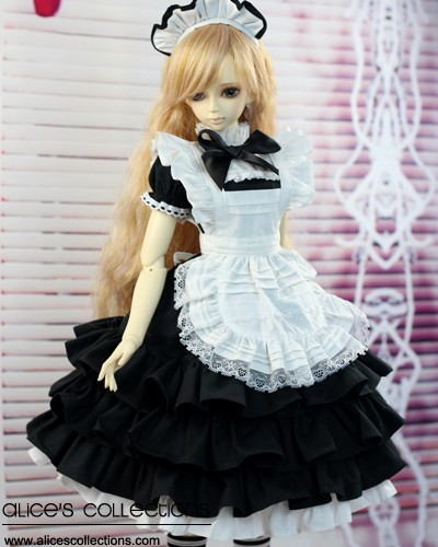 1/3 <font><b>1/4</b></font> <font><b>BJD</b></font> SD Doll <font><b>Clothes</b></font> Accessories Fashion Dress for girls Toy gift image