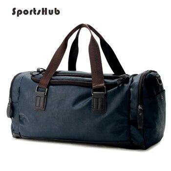 c4d144d0830a SPORTSHUB топ из искусственной кожи для мужчин спортивные сумки ...