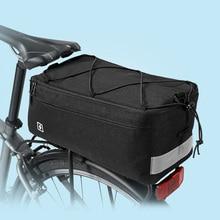 8L 300D Mountain Road Bicycle Bag Bike Bag Cycling Rear Seat Rack Trunk Bag Carrier Bag