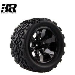 4 шт. RC автомобилей 1/10 HSP 12 мм racing обод колеса шины диаметр 115 мм ширина 55 мм подходит для 1/10 HSP 94111 94188 94108 HPI