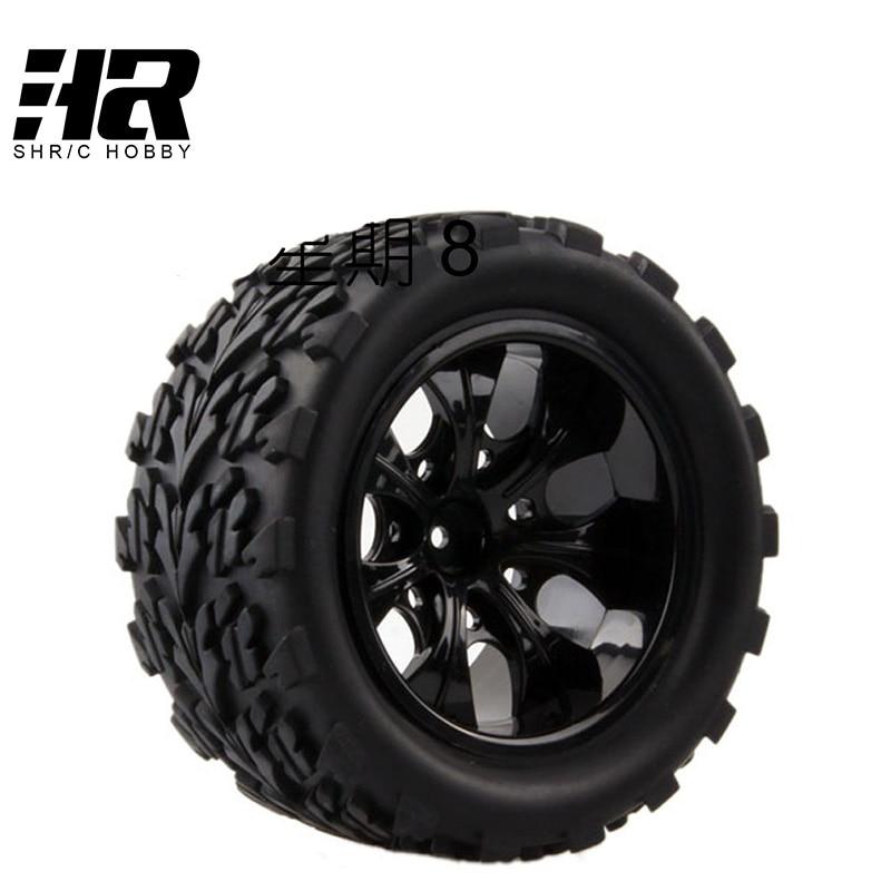 4PCS RC car 1/10 HSP 12mm racing wheel rim tires diameter 115mm width 55mm Suitable for 1/10 HSP 94111 94188 94108 HPI и м стронская 150 тренировочных упражнений по русскому языку 5 9 классы
