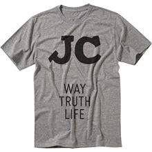 JC Way Truth Life Jesus Christ Salvation Victory Grace Mercy Promise Men T shirt  Free shipping Tops Fashion Classic Unique gift