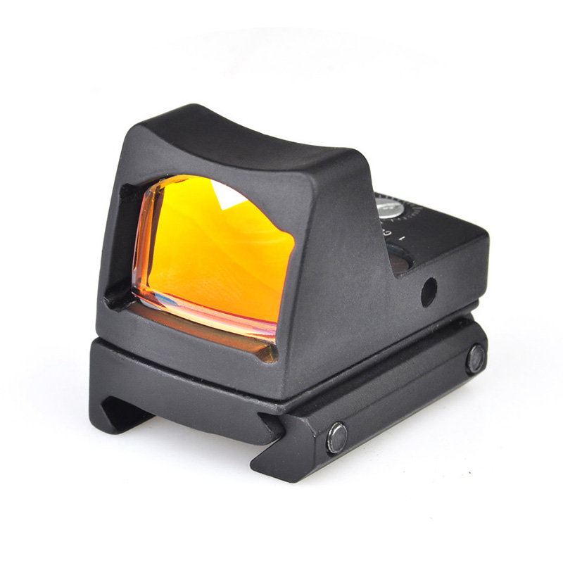 SEIGNEER High Quality Tactical Mini Red Dot Sight Micro Reflex with Picatinny Rail Mount LED RMR
