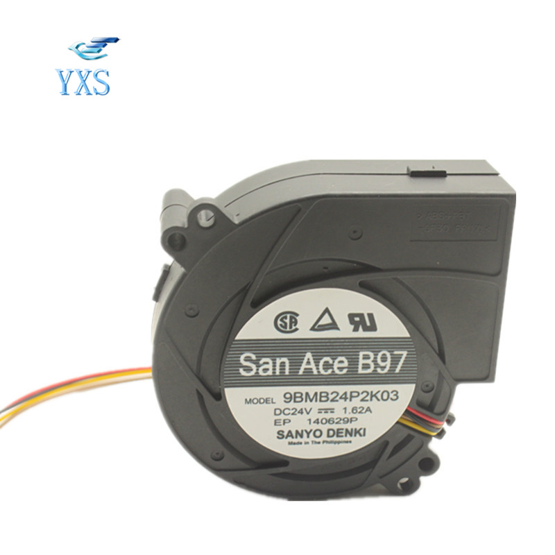 цены на 9BMB24P2K03 DC 24V 1.62A 9733 9CM 97*97*33mm 4 Wires Axial Blower Turbo Cooling Fan в интернет-магазинах