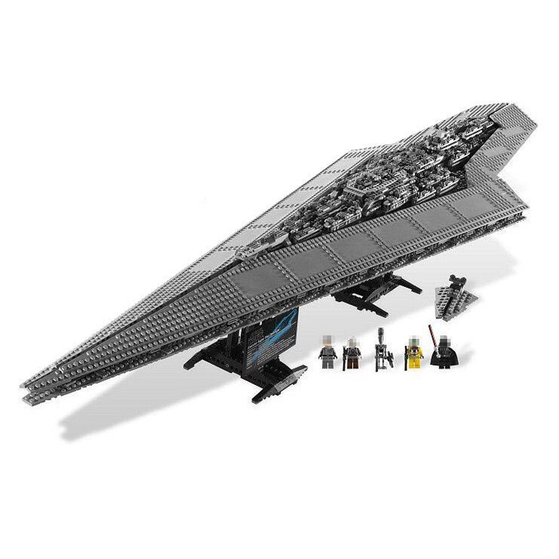 05028 3208PCS Super Star Destroyer Model Building Wars Kit Block Brick Toy Gift Compatible 10221 05028 star wars execytor super star destroyer model building kit mini block brick toy gift compatible 75055 tos lepin