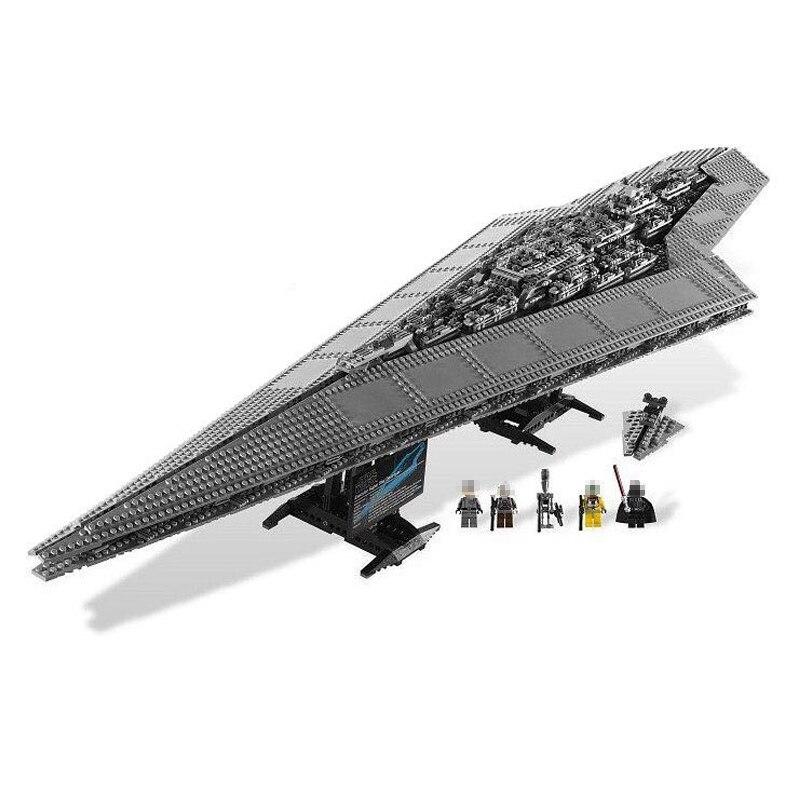 05028 3208PCS Super Star Destroyer Model Building Wars Kit Block Brick Toy Gift Compatible 10221