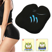 Black Memory Foam Seat Cushion Breathable Non slip Protect Orthopedic Massage Cushions Pad for Chair Car Office Home Decoration