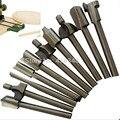 Hot 10 pcs 1/8 Mini Shank Hss Lâmina de Madeira Para Máquina de Gravura Borda Padrão de Corte Router Bits de Fresagem