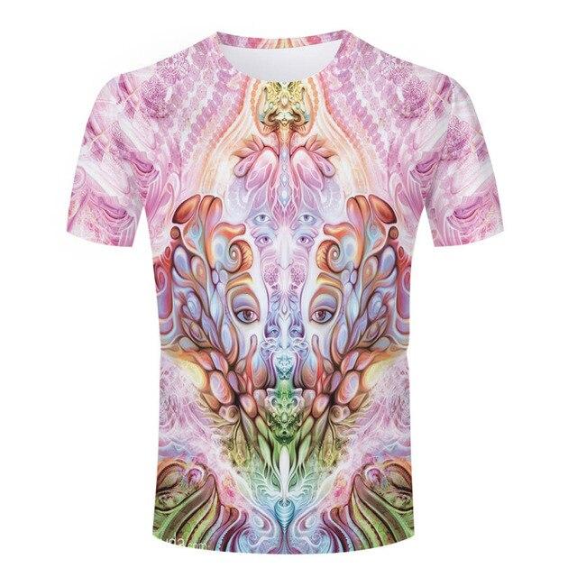 eb37704613f7fc Promotion Summer Men Tops Buddha Printed T Shirts Round Collar Neck Tees  Man Camisetas Short Sleeve Swag Women Face T-shirts