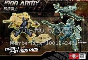 ФОТО tfc toys iron army set a &set b tiger-1  vs p-51 mustang ,t-34vs j-7 shinden.