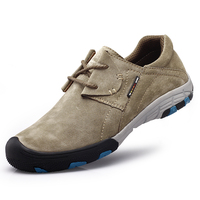 Trekking Shoe Men Outdoor Waterproof 2016 Cheap Spring Autumn Leather Trekking Shoe Men Lightweight Walking Shoe