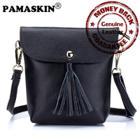 Newest Mobile Phone Bags Premium Real Leather Brand Designer Multi Function Single Shoulder Strap Women Messenger