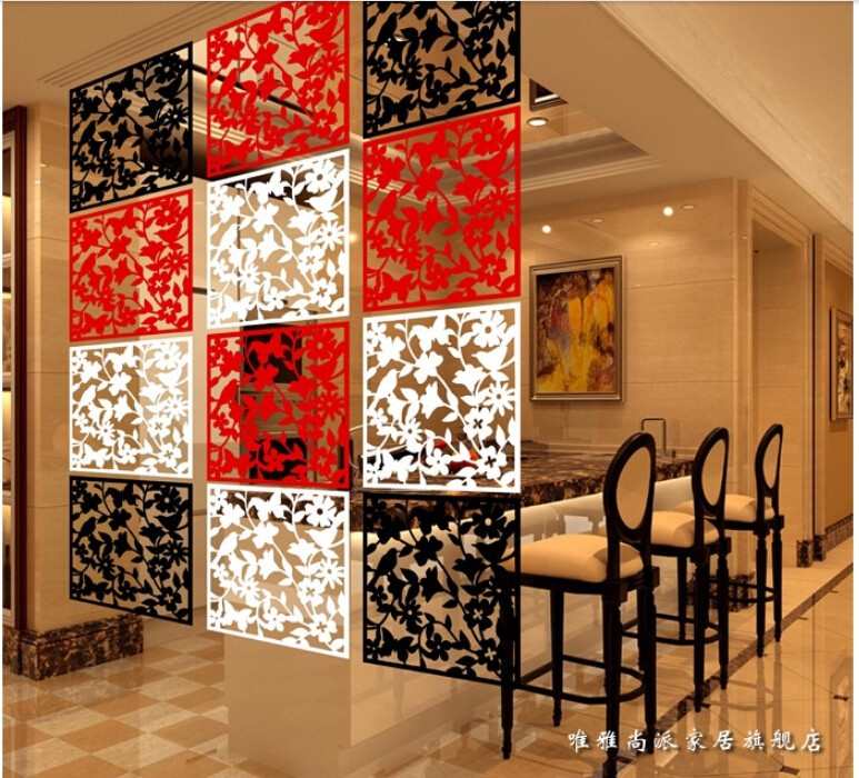 Home decor screen room dividers